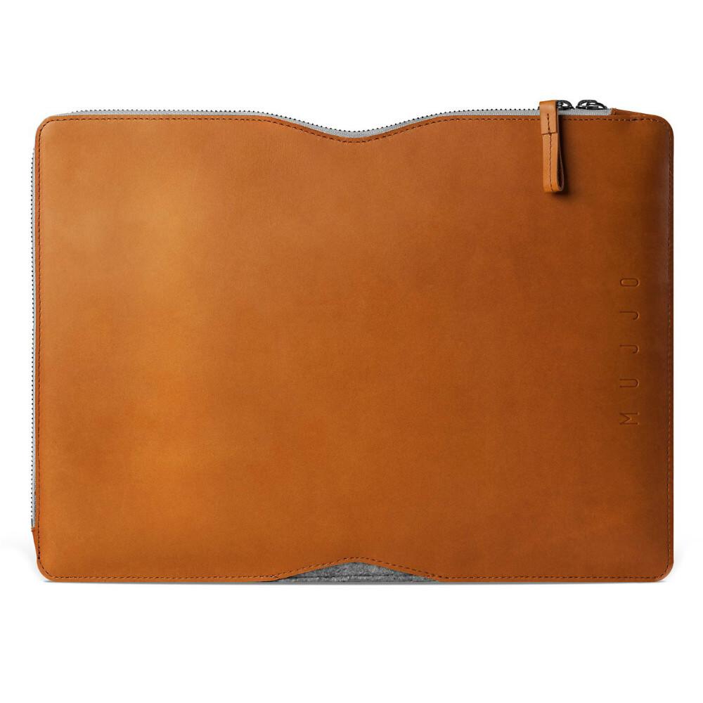 "Чехол MUJJO Folio Sleeve Tan для Macbook 13"""