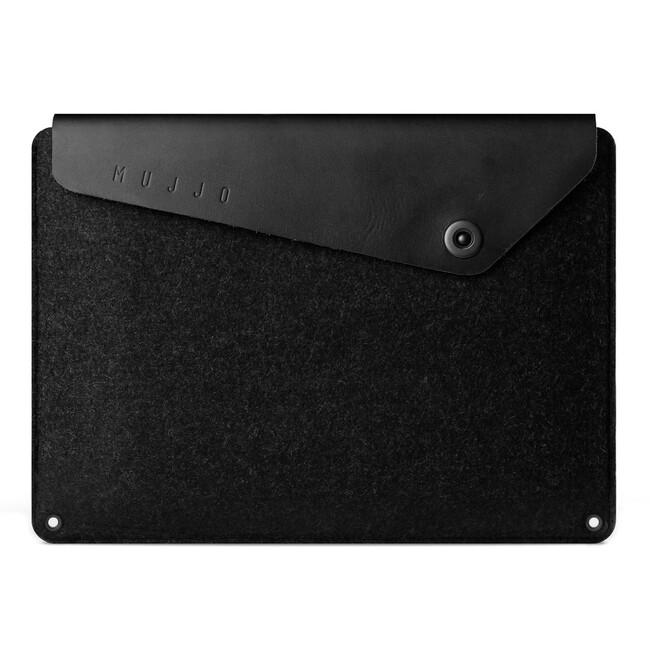 "Чехол MUJJO Sleeve Black для Macbook 12"""