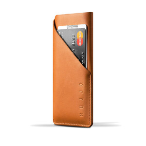 Купить Чехол-карман MUJJO Leather Wallet Sleeve Tan для iPhone 6/6s/7/8