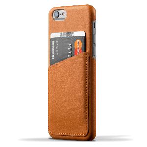 Чехол MUJJO Leather Wallet Case Tan для iPhone 6