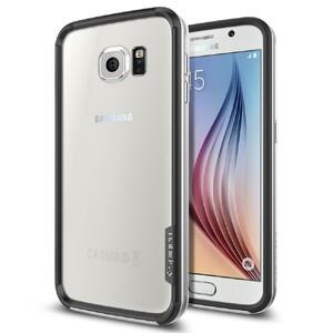 Купить Бампер Spigen Neo Hybrid EX Satin Silver для Samsung Galaxy S6