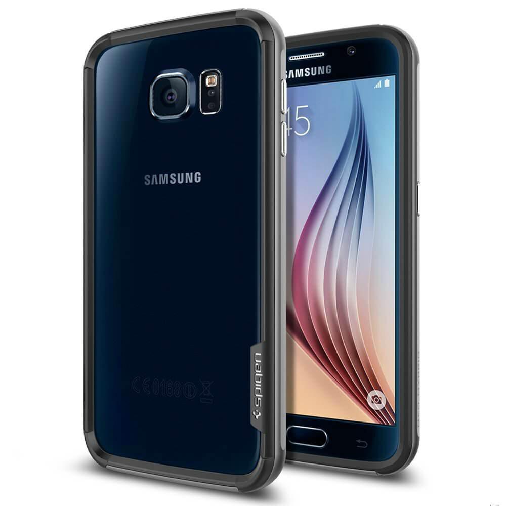 Бампер Spigen Neo Hybrid EX Gunmetal для Samsung Galaxy S6