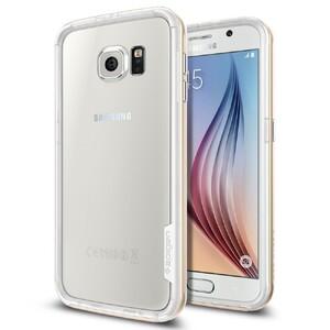 Купить Бампер Spigen Neo Hybrid EX Champagne Gold для Samsung Galaxy S6