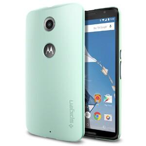 Купить Чехол Spigen Thin Fit Mint для Motorola Nexus 6
