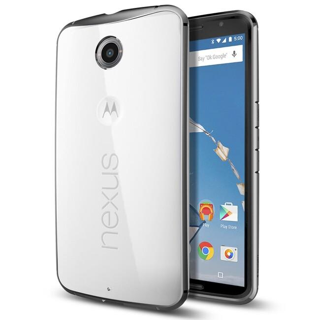 Чехол Spigen Ultra Hybrid Gunmetal для Motorola Nexus 6
