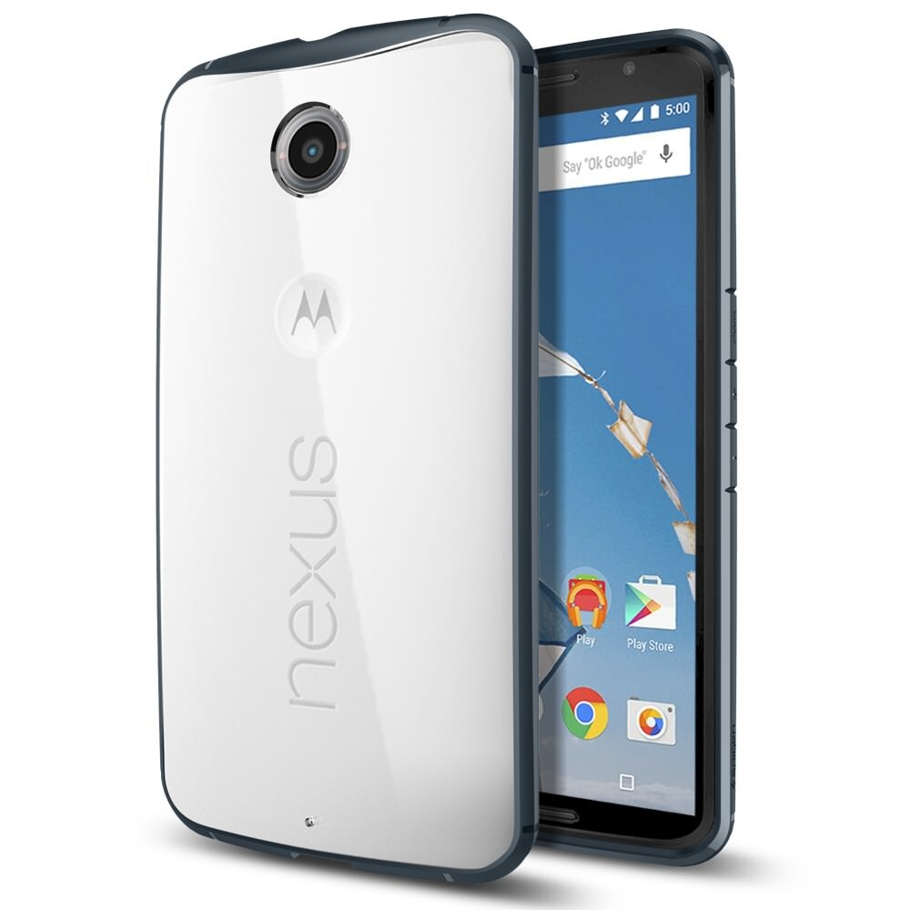 Чехол Spigen Ultra Hybrid Metal Slate для Motorola Nexus 6