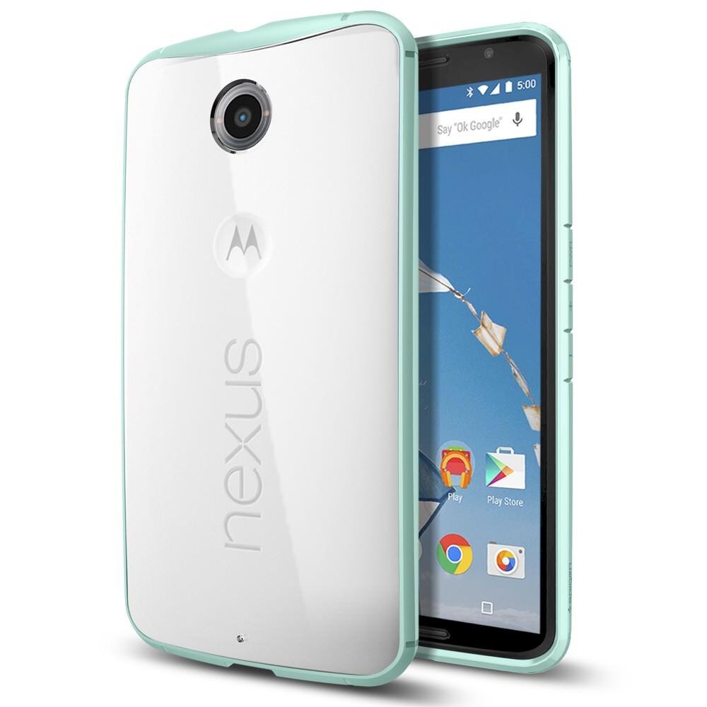Чехол Spigen Ultra Hybrid Mint для Motorola Nexus 6