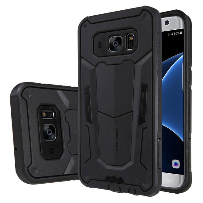 Противоударный защитный чехол Nillkin Defender 2 Black для Samsung Galaxy S7 edge