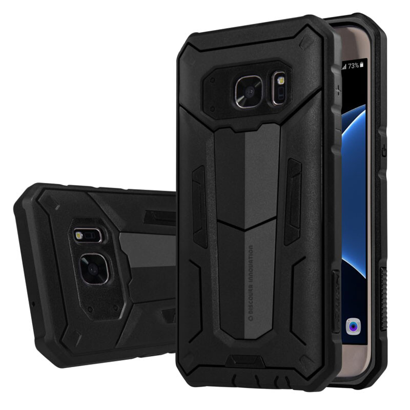 Противоударный защитный чехол Nillkin Defender 2 Black для Samsung Galaxy S7