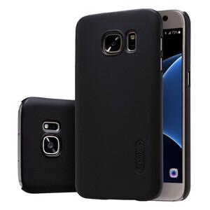 Купить Черный пластиковый чехол Nillkin Frosted Shield для Samsung Galaxy S7