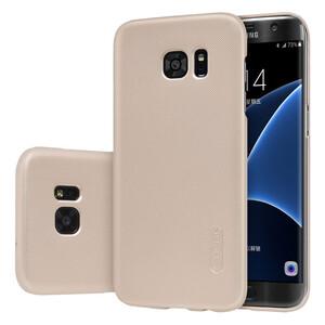 Купить Золотой пластиковый чехол Nillkin Frosted Shield для Samsung Galaxy S7 edge
