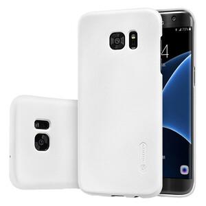 Купить Белый пластиковый чехол Nillkin Frosted Shield для Samsung Galaxy S7 edge