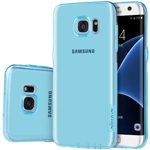 Купить Голубой TPU чехол Nillkin Nature для Samsung Galaxy S7 edge