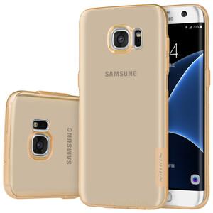 Купить Золотой TPU чехол Nillkin Nature для Samsung Galaxy S7 edge