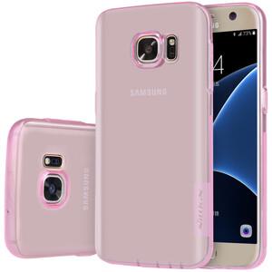 Купить Розовый TPU чехол Nillkin Nature для Samsung Galaxy S7
