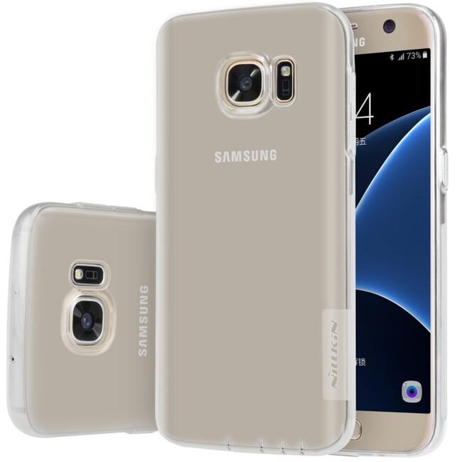 Прозрачный TPU чехол Nillkin Nature для Samsung Galaxy S7