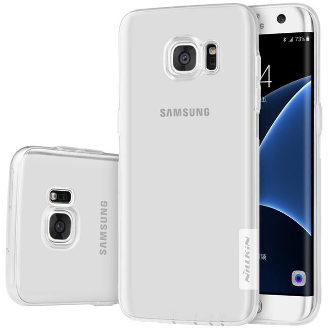 Прозрачный TPU чехол Nillkin Nature для Samsung Galaxy S7 edge