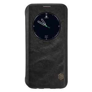 Купить Кожаный флип-чехол Nillkin Qin Series Черный для Samsung Galaxy S7 edge