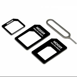 Купить Адаптер Nano Sim + Micro Sim + Mini Sim NOOSY 4-in-1
