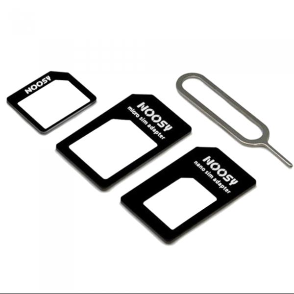 Адаптер iLoungeMax Nano Sim + Micro Sim + Mini Sim NOOSY 4-in-1