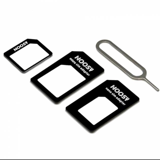 Адаптер Nano Sim + Micro Sim + Mini Sim NOOSY 4-in-1