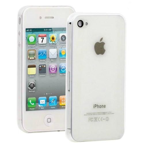 Прозрачный ультратонкий чехол O'Thinner 0.3mm для iPhone 4/4S