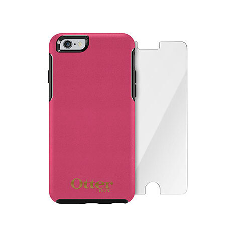 Чехол Otterbox Symmetry Series Blossom + защитное стекло Alpha Glass для iPhone 6/6s