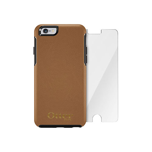 Чехол Otterbox Symmetry Series Desert + защитное стекло Alpha Glass для iPhone 6/6s