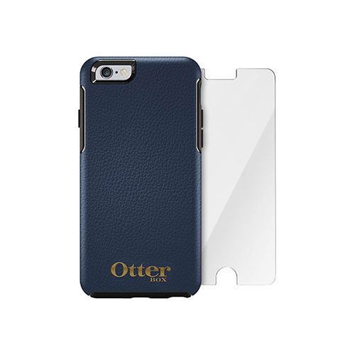 Чехол Otterbox Symmetry Series Oceania + защитное стекло Alpha Glass для iPhone 6/6s