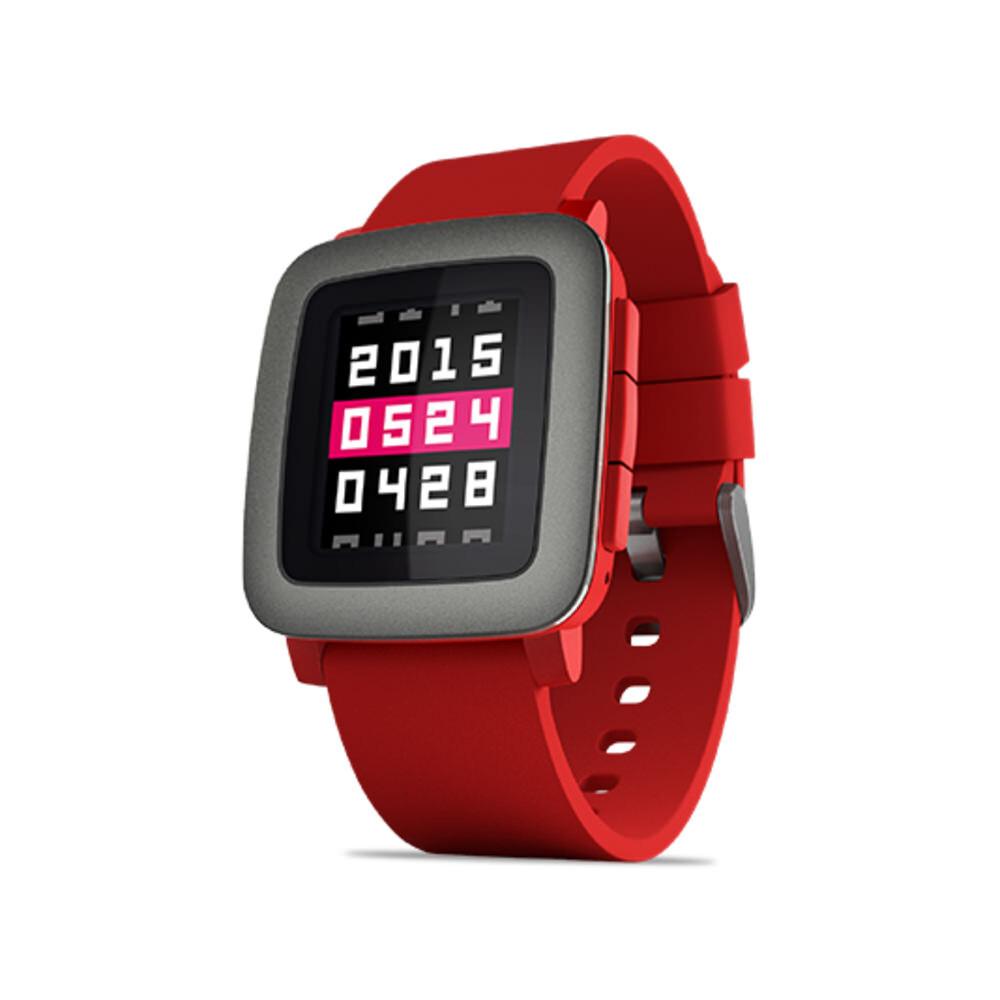 Умные часы Pebble Time Red