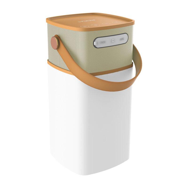 Портативная колонка ROCK Mulite Bluetooth LED Coffee