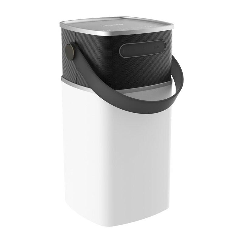 Портативная колонка ROCK Mulite Bluetooth LED Grey