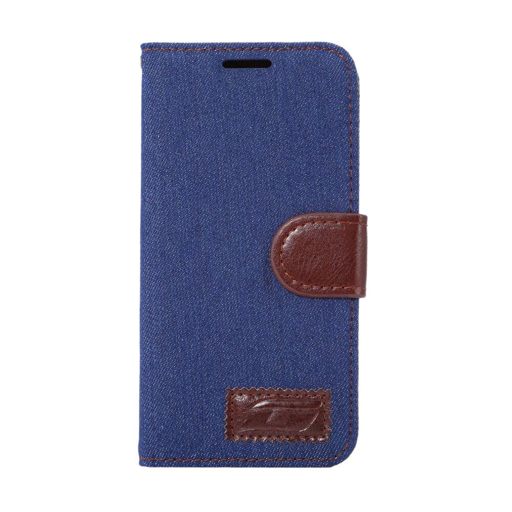 Чехол-кошелек S-Green Синий для Samsung Galaxy S7 edge