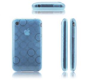 Купить Голубой чехол Circle для iPhone 3G/3GS