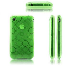 Купить Салатовый чехол Circle для iPhone 3G/3GS