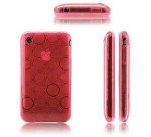 Купить Красный чехол Circle для iPhone 3G/3GS