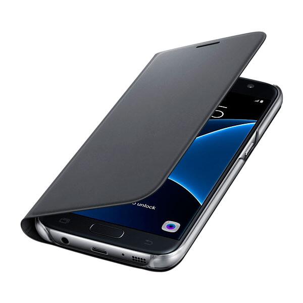 Чехол Samsung Flip Wallet Black для Samsung Galaxy S7