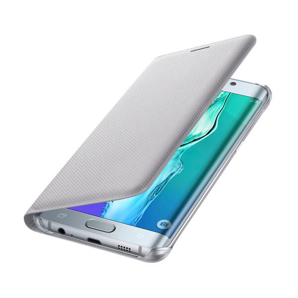 Чехол Samsung Wallet Flip Cover Silver для Samsung Galaxy S6 Edge+ Plus