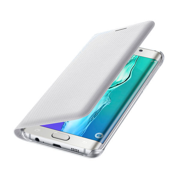 Чехол Samsung Wallet Flip Cover White для Samsung Galaxy S6 Edge+ Plus