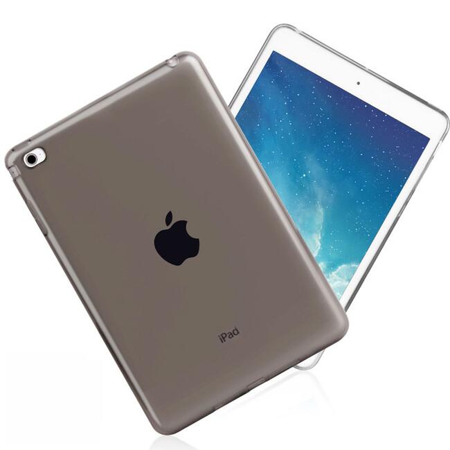 Прозрачный TPU чехол Silicol Black для iPad mini 4