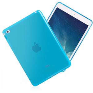 Купить Прозрачный TPU чехол Silicol Blue для iPad mini 4