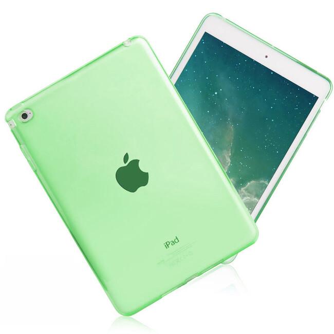 Прозрачный TPU чехол Silicol Green для iPad mini 4