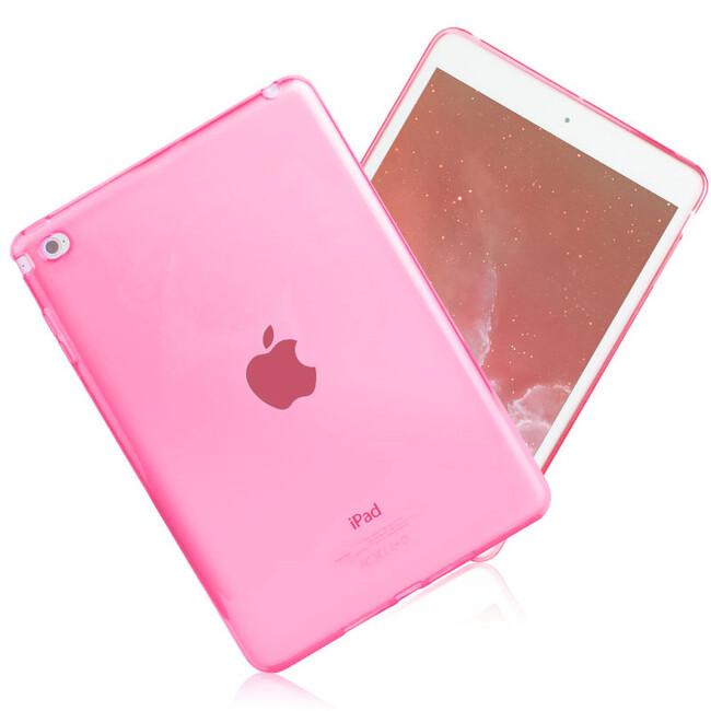 Прозрачный TPU чехол Silicol Pink для iPad mini 4