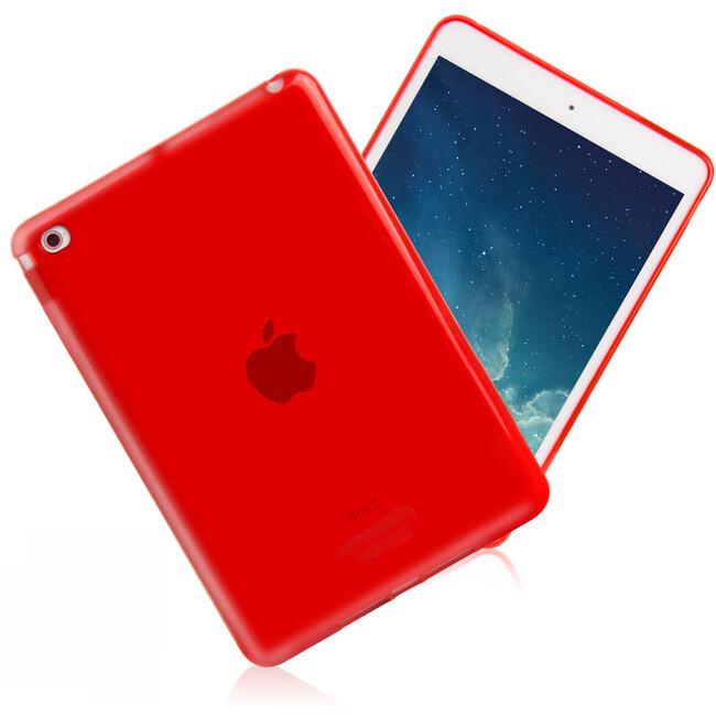 Прозрачный TPU чехол Silicol Red для iPad mini 4