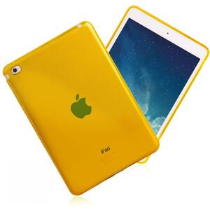 Купить Прозрачный TPU чехол Silicol Yellow для iPad mini 4