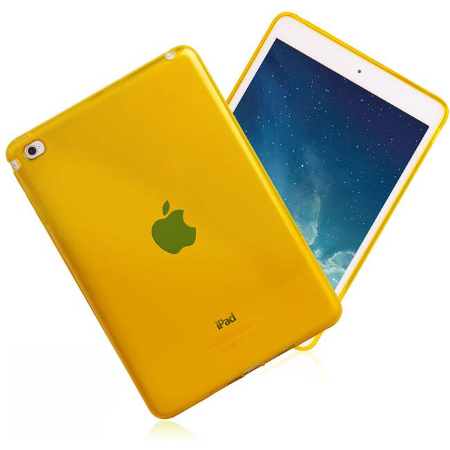 Прозрачный TPU чехол Silicol Yellow для iPad mini 4