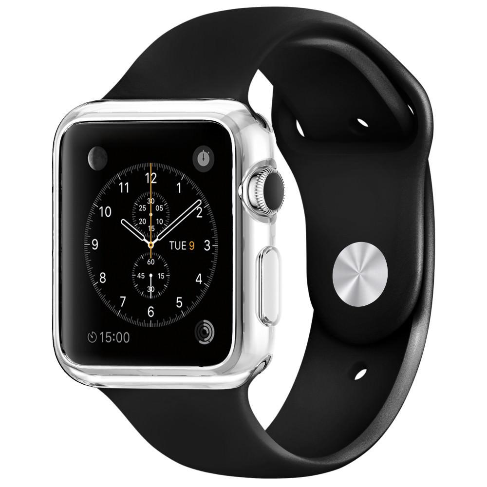 Купить Тонкий прозрачный TPU чехол oneLounge SilicolDots для Apple Watch Series 1 | 2 | 3 42mm