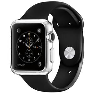 Купить Прозрачный TPU чехол Silicol 0.6mm для Apple Watch Series 1 & 2 42mm