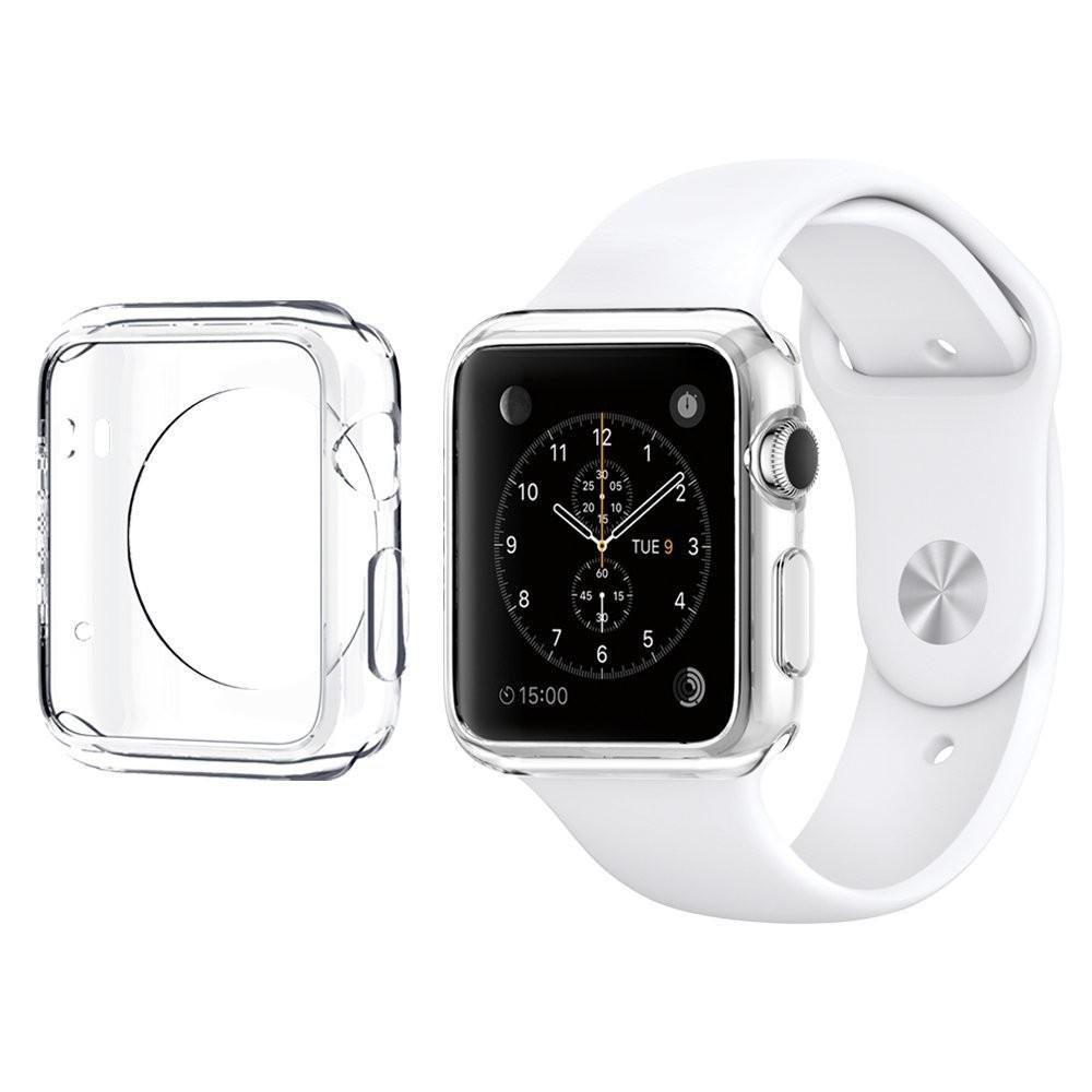 Купить Тонкий прозрачный TPU чехол oneLounge SilicolDots для Apple Watch Series 1 | 2 | 3 38mm