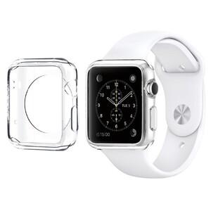 Купить Прозрачный TPU чехол Silicol 0.6mm для Apple Watch 38mm